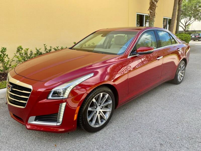 2016 Cadillac CTS for sale at DENMARK AUTO BROKERS in Riviera Beach FL