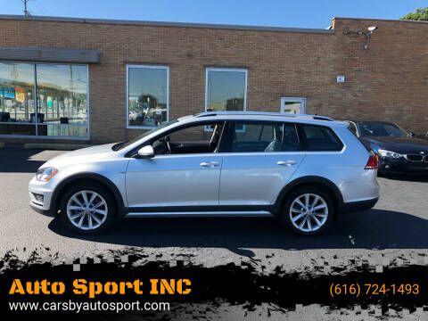2017 Volkswagen Golf Alltrack for sale at Auto Sport INC in Grand Rapids MI