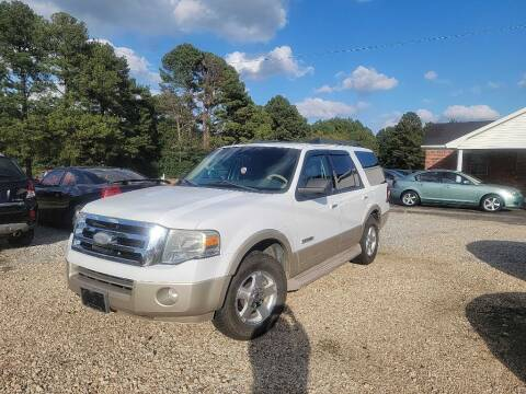 2007 Ford Expedition for sale at Five Star Motors in Senatobia MS