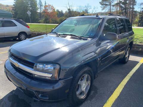 2007 Chevrolet TrailBlazer for sale at BURNWORTH AUTO INC in Windber PA