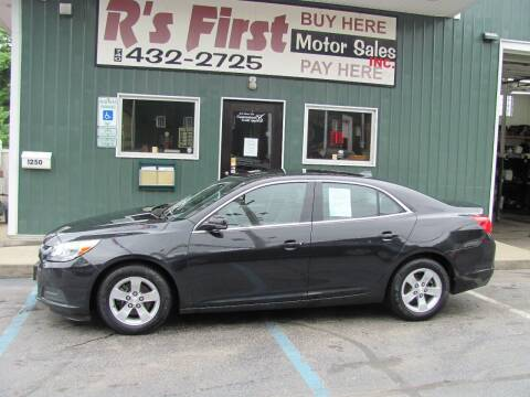 2014 Chevrolet Malibu for sale at R's First Motor Sales Inc in Cambridge OH