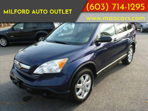 2009 Honda CR-V for sale at Milford Auto Outlet in Milford NH