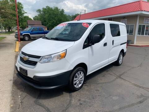 2015 Chevrolet City Express Cargo for sale at THE PATRIOT AUTO GROUP LLC in Elkhart IN