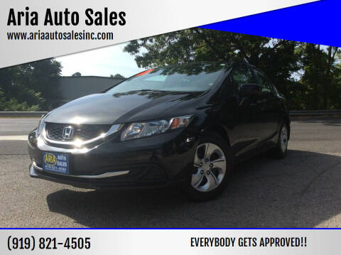 2014 Honda Civic for sale at ARIA  AUTO  SALES in Raleigh NC