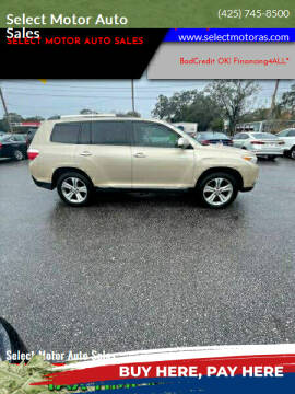 2011 Toyota Highlander for sale at Select Motor Auto Sales in Lynnwood WA