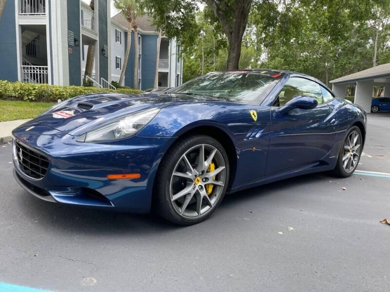 2011 Ferrari California for sale at WHEEL UNIK AUTOMOTIVE & ACCESSORIES INC in Orlando FL