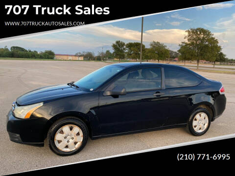 2008 Ford Focus for sale at 707 Truck Sales in San Antonio TX