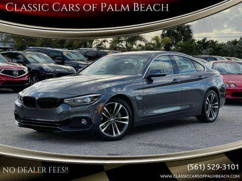 2020 BMW 4 Series for sale at Classic Cars of Palm Beach in Jupiter FL