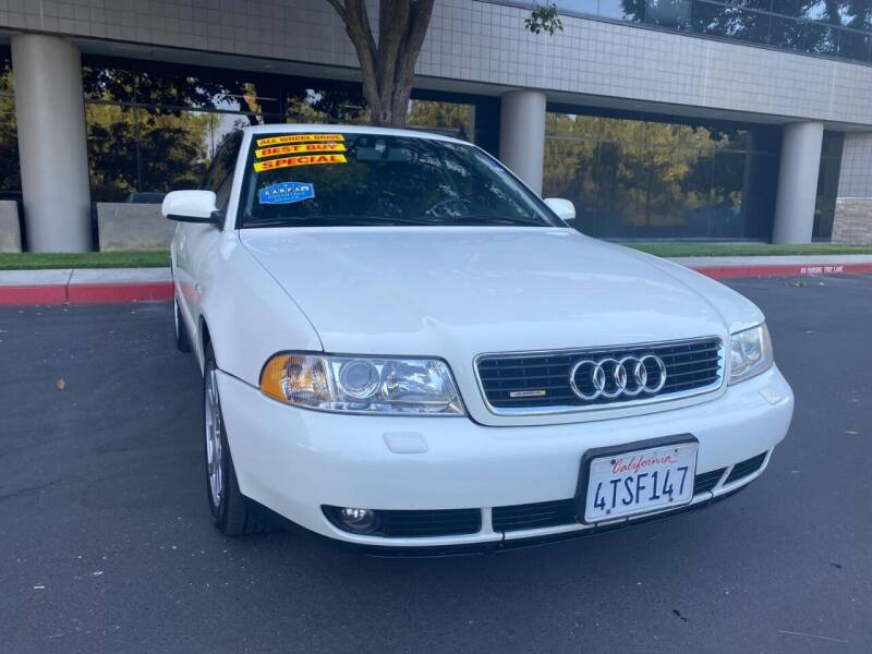 2001 Audi A4 for sale at Right Cars Auto Sales in Sacramento CA