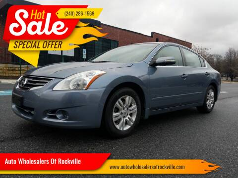 2010 Nissan Altima for sale at Auto Wholesalers Of Rockville in Rockville MD