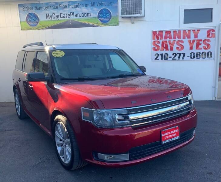 2013 Ford Flex for sale at Manny G Motors in San Antonio TX