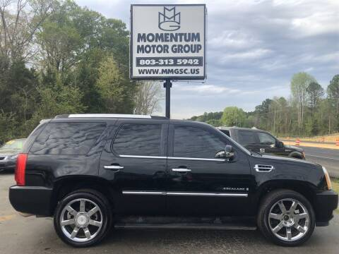 2008 Cadillac Escalade for sale at Momentum Motor Group in Lancaster SC