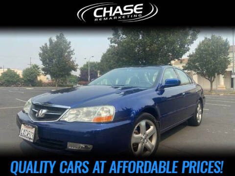 2003 Acura TL for sale at Chase Remarketing in Fremont CA