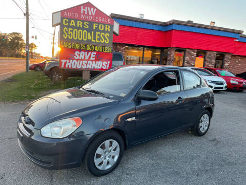 2009 Hyundai Accent for sale at HW Auto Wholesale in Norfolk VA