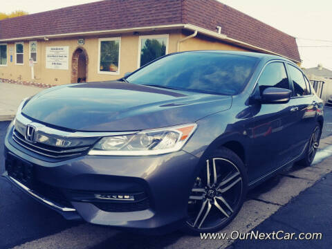 2017 Honda Accord for sale at Ournextcar/Ramirez Auto Sales in Downey CA