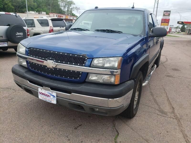 2004 Chevrolet Silverado 1500 for sale at Gordon Auto Sales LLC in Sioux City IA