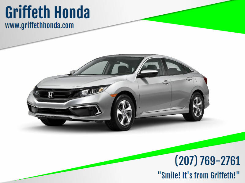 2020 Honda Civic for sale at Griffeth Honda in Presque Isle ME