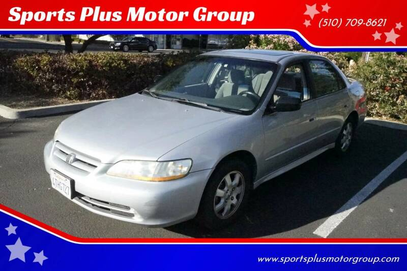 2001 Honda Accord for sale at Sports Plus Motor Group LLC in Sunnyvale CA