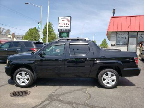 2012 Honda Ridgeline for sale at Select Auto Group in Wyoming MI