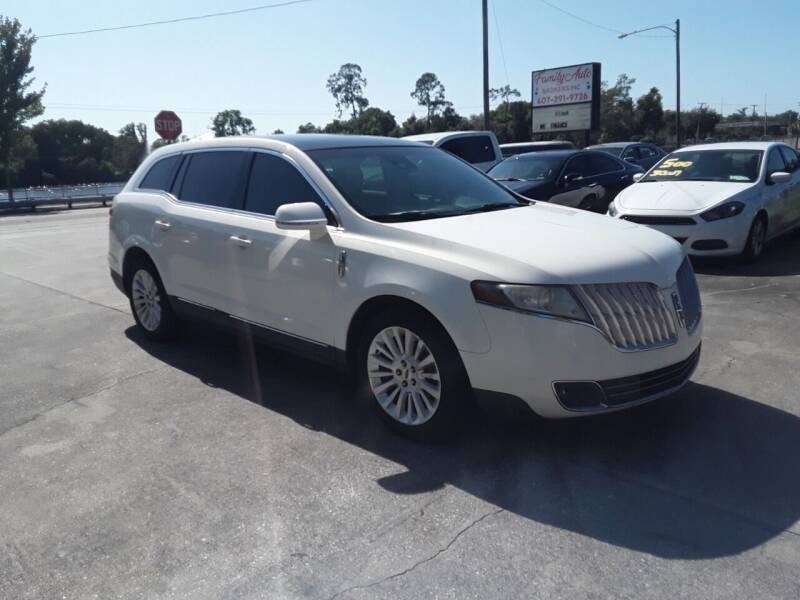 2012 Lincoln MKT for sale at FAMILY AUTO BROKERS in Longwood FL
