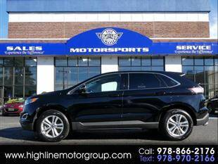 2018 Ford Edge for sale at Highline Group Motorsports in Lowell MA