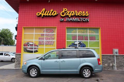 2008 Chrysler Town and Country for sale at AUTO EXPRESS OF HAMILTON LLC in Hamilton OH