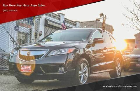 2015 Acura RDX for sale at Buy Here Pay Here Auto Sales in Newark NJ