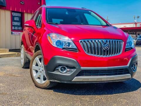 2015 Buick Encore for sale at MAGNA CUM LAUDE AUTO COMPANY in Lubbock TX
