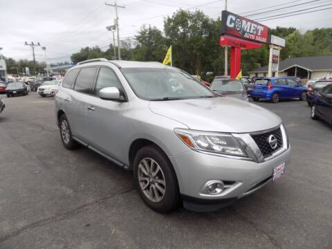 2016 Nissan Pathfinder for sale at Comet Auto Sales in Manchester NH