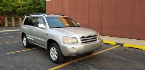 2002 Toyota Highlander for sale at U.S. Auto Group in Chicago IL