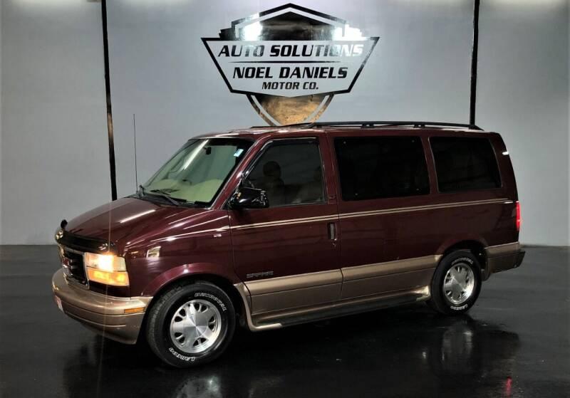 2002 GMC Safari for sale at Noel Daniels Motor Company in Ridgeland MS