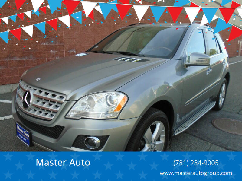2011 Mercedes-Benz M-Class for sale at Master Auto in Revere MA