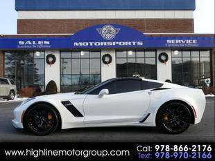 2015 Chevrolet Corvette for sale at Highline Group Motorsports in Lowell MA