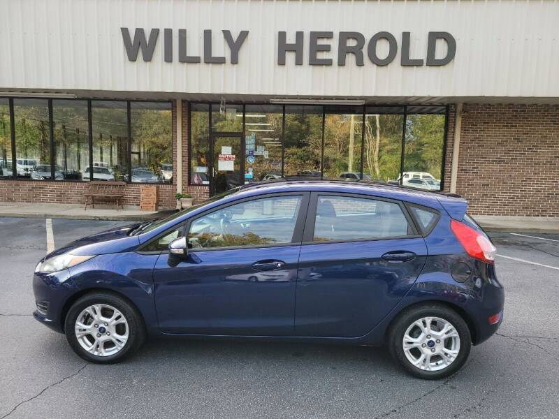 2016 Ford Fiesta for sale at Willy Herold Automotive in Columbus GA