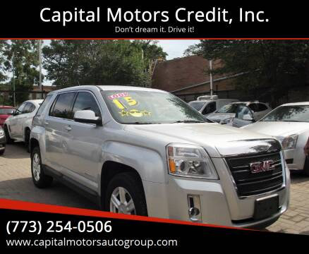 2015 GMC Terrain for sale at Capital Motors Credit, Inc. in Chicago IL
