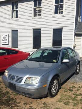 2003 Volkswagen Jetta for sale at Village Auto Center INC in Harrisonburg VA