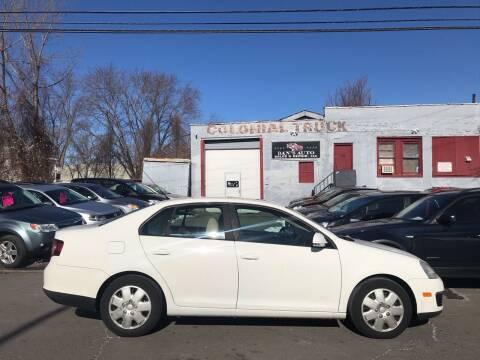 2008 Volkswagen Jetta for sale at Dan's Auto Sales and Repair LLC in East Hartford CT