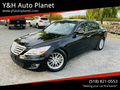 2010 Hyundai Genesis for sale at Y&H Auto Planet in West Sand Lake NY