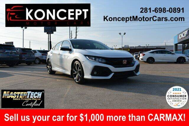 2017 Honda Civic for sale in Houston, TX