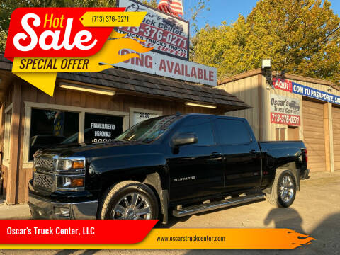 2014 Chevrolet Silverado 1500 for sale at Oscar's Truck Center, LLC in Houston TX