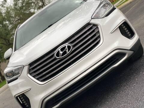 2017 Hyundai Santa Fe for sale at HIGH PERFORMANCE MOTORS in Hollywood FL