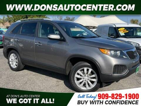 2011 Kia Sorento for sale at Dons Auto Center in Fontana CA