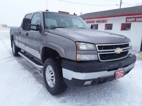 2006 Chevrolet Silverado 2500HD for sale at Sarpy County Motors in Springfield NE