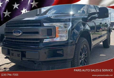 2018 Ford F-150 for sale at Paris Auto Sales & Service in Big Rapids MI