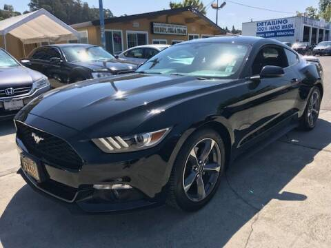 2016 Ford Mustang for sale at MISSION AUTOS in Hayward CA