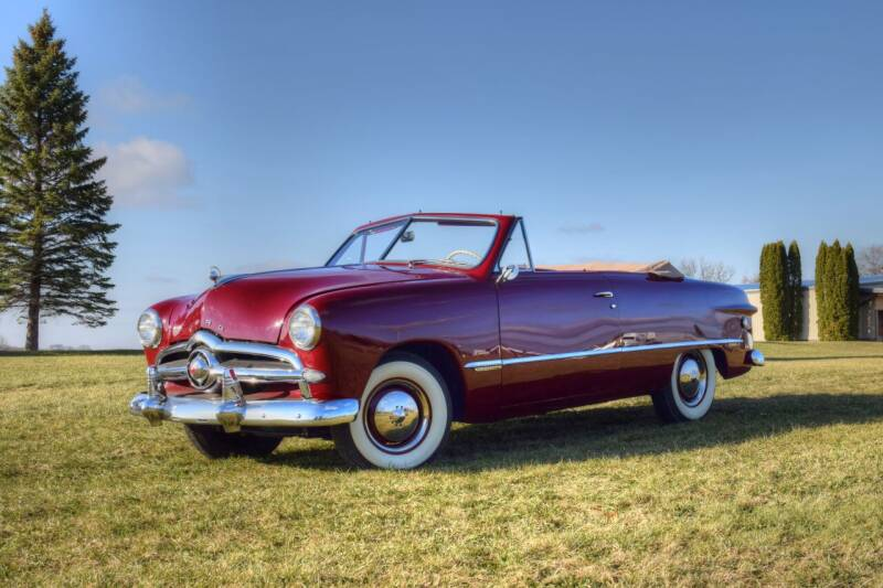 1949 Ford Convertible  for sale at Hooked On Classics in Watertown MN