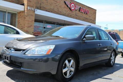 2004 Honda Accord for sale at JT AUTO in Parma OH