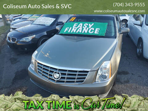 2011 Cadillac DTS for sale at Coliseum Auto Sales & SVC in Charlotte NC