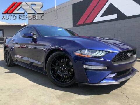 2018 Ford Mustang for sale at Auto Republic Fullerton in Fullerton CA