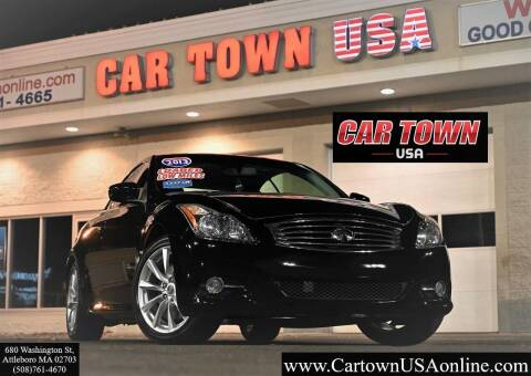2013 Infiniti G37 Convertible for sale at Car Town USA in Attleboro MA